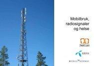 Mobilbruk, radiosignaler og helse - Etterstad Vest borettslag