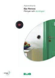 Apparatserie Eljo Renova Förnyar och återskapar - berlin elektriska ab