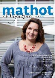 Magazine nr 4 2012 - Mathot