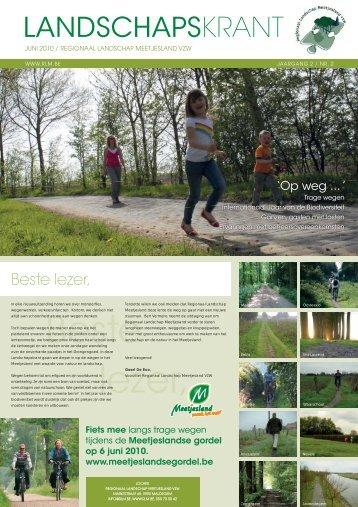 Download hier de volledige krant - Regionaal Landschap Meetjesland