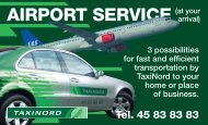 airport service - Nord Taxi