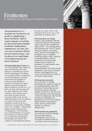 Emittenten – en uppföljning - Strukturinvest