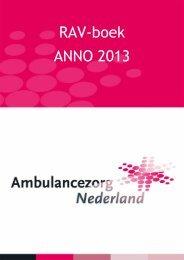 RAV-boek ANNO 2013