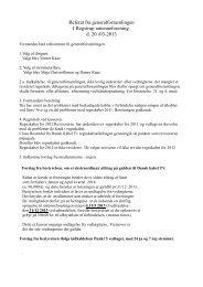 Referat fra generalforsamlingen I Regstrup antenneforening. d. 20 ...