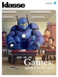 Klasse Games geen kinderspel.pdf - participatiemedia