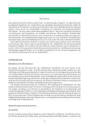 Das Geheimnis der schweizerischen Demokratie I. Demokratie