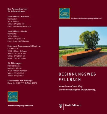 Download Prospekt - Besinnungsweg Fellbach