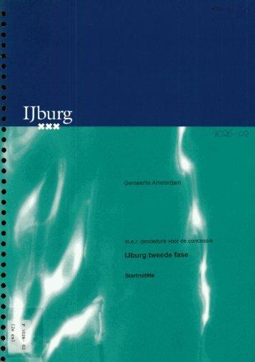 IJburg tweede - Commissie voor de milieueffectrapportage