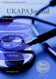 UKAPA Journal - December 2012