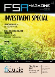 INVESTMENT SPECIAL - Fsa
