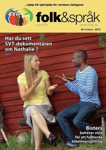 Folk&Språk 4-12 - Folk och språk