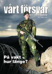 Nr 1/ 2005 Årgång 117 - Allmänna Försvarsföreningen