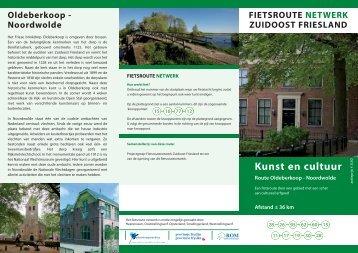 fietsroute Kunst en cultuur - Passantenhaven De Uutwiek in ...