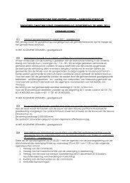 Verslag gemeenteraad 28 april 2011 - Gemeente Sint-Pieters-Leeuw