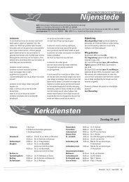 Kerkdiensten van mei 2012 - Kerkplein Amersfoort