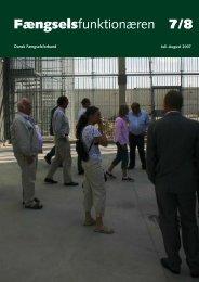 Nr. 7/8 - 2007 - Fængselsforbundet