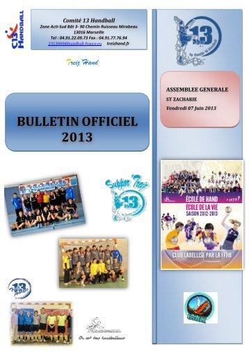 télécharger le document - Comité 13 Handball