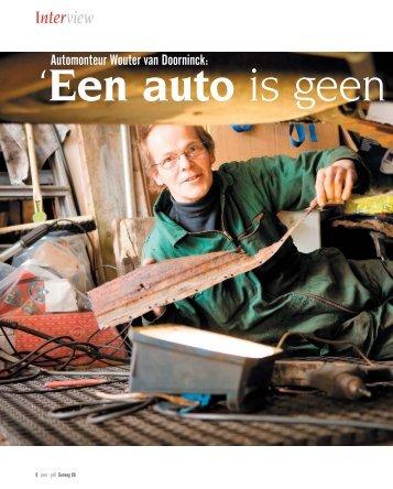 Automonteur Wouter van Doorninck