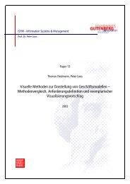 isym013.pdf - Lehrstuhl für Wirtschaftsinformatik und BWL