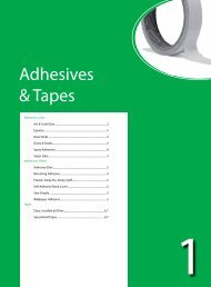 Adhesives & Tapes - Just Write