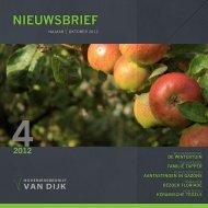 NIEUWSBRIEF - Hoveniersbedrijf van Dijk