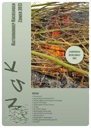 nieuwsbrief - Natuurgroep Kockengen