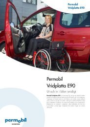 Vridplatta E90 - Permobil