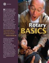 Rotary Basics - Vaasa Botnia