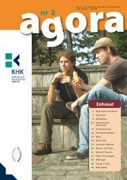 55038-Tijdschrift 'Agora' - Katholieke Hogeschool Kempen