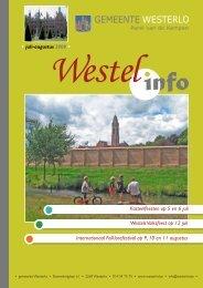 Westels Volksfeest op 12 juli Kasteelfeesten op 5 en 6 juli ...