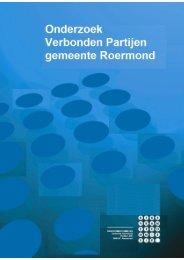 Rapport Verbonden Partijen - Gemeente Roermond
