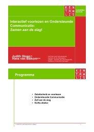 10. Interactief voorlezen en ondersteunende communicatie - Bosk