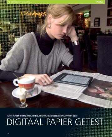 DIGITAAL PAPIER GETEST - Yuri van Doesum