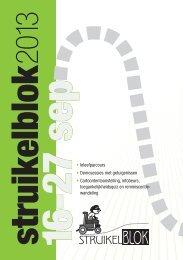Flyer struikelblok 2013 - Mentor