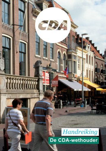 Handreiking Competentieprofiel CDA-Wethouder 2014-2018