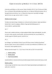 Kristendomskundskab og billedkunst 0.-1.-2. klasse 2012-2013