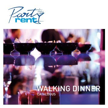 Walking Dinner catalogus - Party Rent