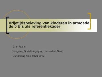 Vlaams minister van - VCOK - opvoeden vandaag