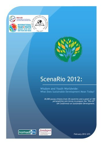 download the presentation leaflet - Scenario 2012