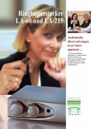 Ringlusversterker LA-60 und LA-215 - VoiceConnections