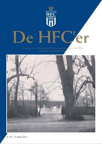 nr. 20. 15 maart 2011 - Koninklijke HFC