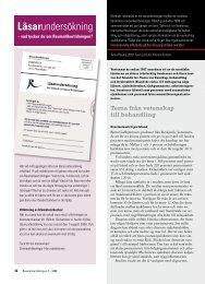 42 Läsarundersökning och Reuma 2007 - Välkommen till ...