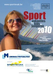 Sportievak Kids 2010 - West-Vlaanderen