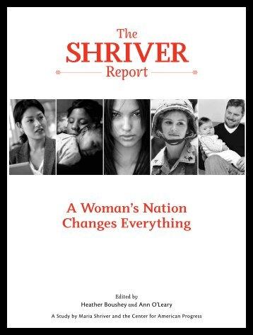 SHRIVER - The Shriver Report