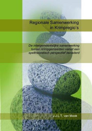 Regionale Samenwerking in Krimpregio's - RUhosting