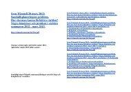 Några händelser och - Sven Wimnells hemsida