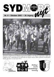 Nr. 4 • Oktober 2005 • 30. årgang - Sydmors IF