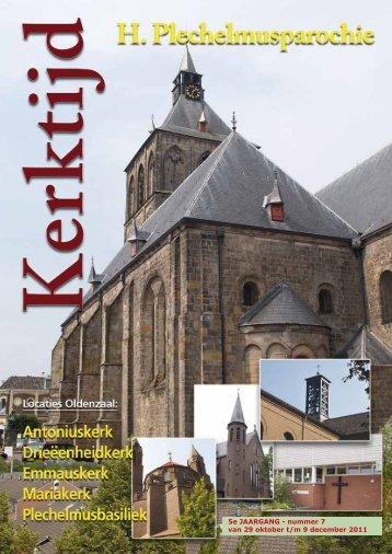 5e JAARGANG - nummer 7 van 29 oktober t/m 9 december 2011 - St ...