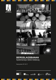 BERGSLAGSBANAN - Falu Kommun