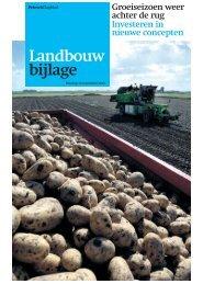 Landbouwbijlage - Tekst met Pit
